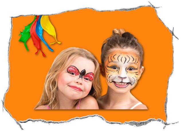 malowanie twarzy na imprezach
