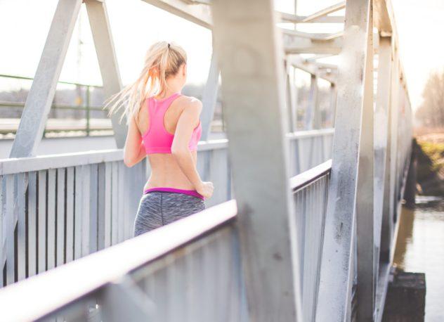 bieganie na festynie sportowym